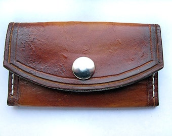 Handmade Leather Card Wallet