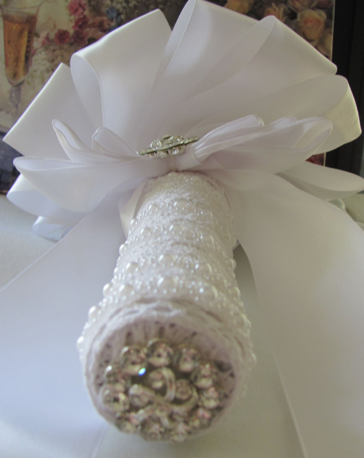 Wedding Bouquet Holder Create Your Own DIY Bridal Bouquet