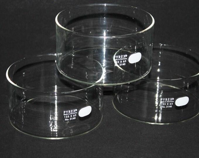Pyrex Crystallizing Dish 125x65 PN 3140 Made in Germany, Repurpose