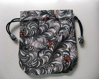 Pouch,Small Bag,Japanese  Silk kimono fabric #26