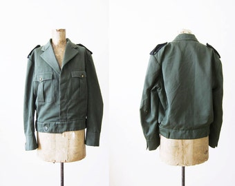 Army Jacket / Military Jacket / Eisenhower Jacket / 1940s Ike Jacket