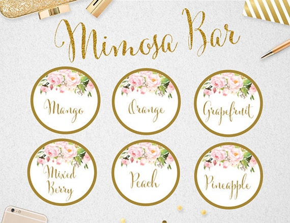Divine image intended for mimosa bar printable