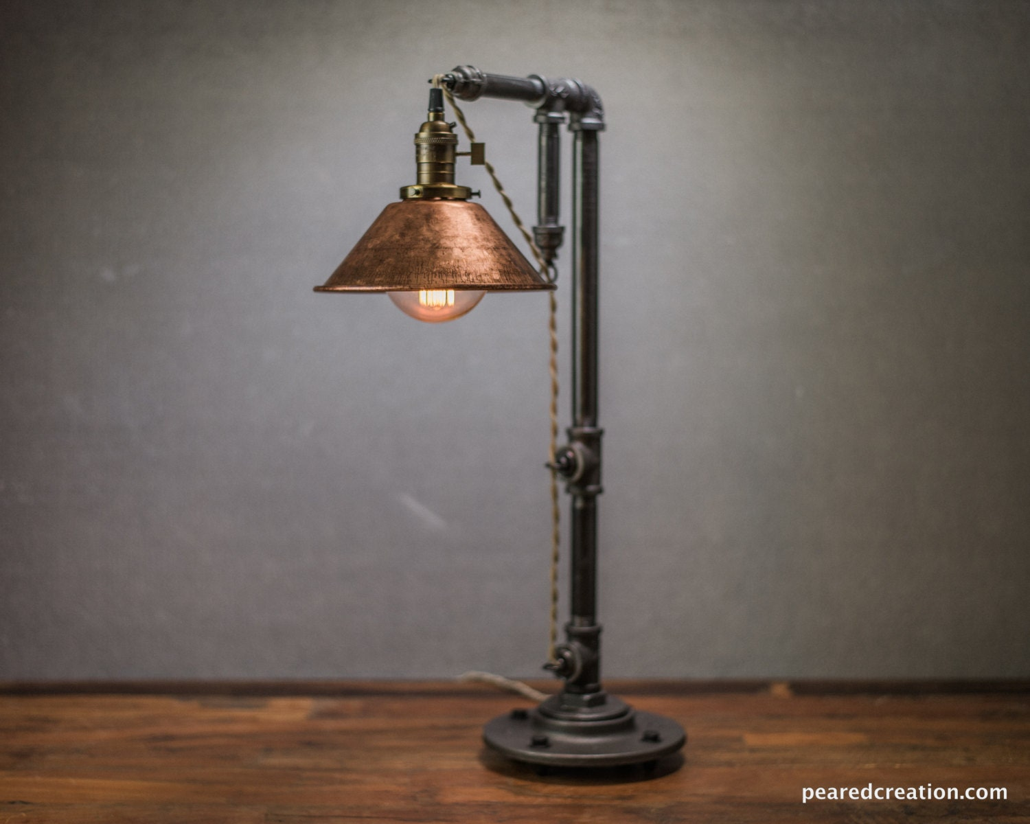 industrial table lamp edison bulb lamp table lamp. Black Bedroom Furniture Sets. Home Design Ideas