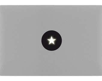 STAR MacBook Sticker Decal