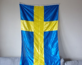 Nylon Blue and Yellow Nautical Flag - Flag of Sweden - Swedish Country Flag