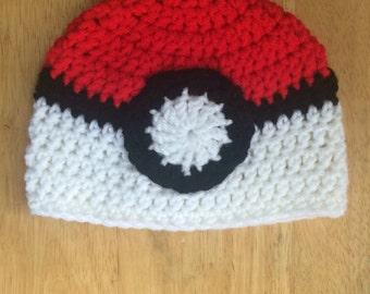 Newborn Pokemon Hat, Crochet Pokemon Beanie Hat, Pokemon Hat, Baby Hat, Boy Hat, Photo Prop, Pokemon