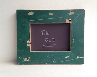 """Reclaimed Wood Handmade Picture Frame 5"""" x 7"""""""