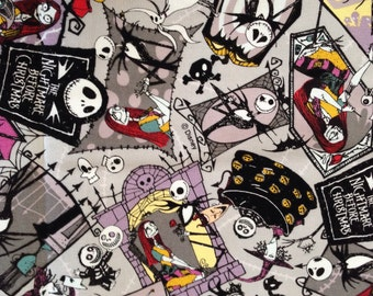 Disney Nightmare Before The Christmas Fabric / Japanese Fabric 50cm x 100cm