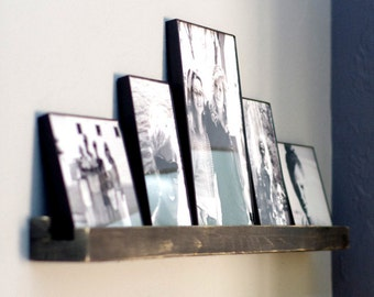 Floating Shelf - Minimalist Shelf - Picture Shelf - Rustic Modern Ledge Shelf