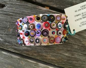 Handmade Sequin Bracelets (White)