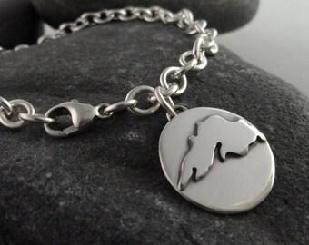Lake Superior Sterling Silver Bracelet