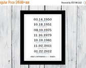 ONSALE What A Difference A Day Makes Adoption Day Dates   Custom Print 11x14 11x17 13x19 16x20