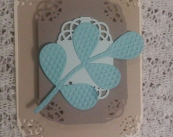 Romantic Lace Cut Card KIT for 3 Cards