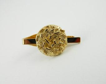 Gold Nugget Tie Clip - TT086