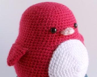 Ruffles the Crochet Penguin