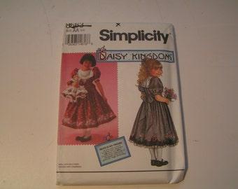 Vintage Simplicity 8663 Daisy Kingdom Girl Dress