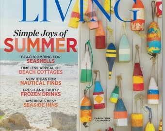Handmade Vintage Style Wood Buoys ..Custom For You! As featured on Coastal Living Cover