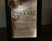 RESERVED Snopes Book Sculpture