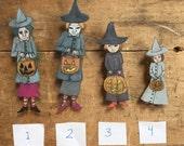 Spooky pins, hand drawn pins, original art jewelry, shrink plastic pins