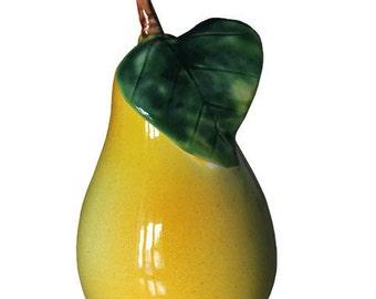 Realistic ceramic pear, hand made, Ceramics and Pottery