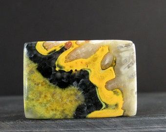 Best quality  Bumble bee jasper cabochon , Natural stone,  B6084