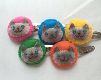 Cat Hair Clip - Siamese