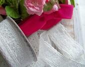 White Eyelet Lace, Eyelet Lace, Eyelet Trim, Vintage Look Lace, Eyelet, Romantic Ribbons, Eyelet Ribbon, Eyelet Lace Ribbons, Shabby Laces