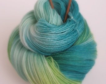 Hand dyed Yarn 'Dreaming...' -  Hand dyed wool yarn  4 ply