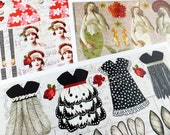 40+ PRETTY PAPER DOLLS in This Paper Sheet Collection!