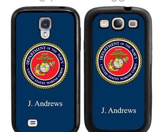 Customized US Marine Corps Samsung Galaxy Case