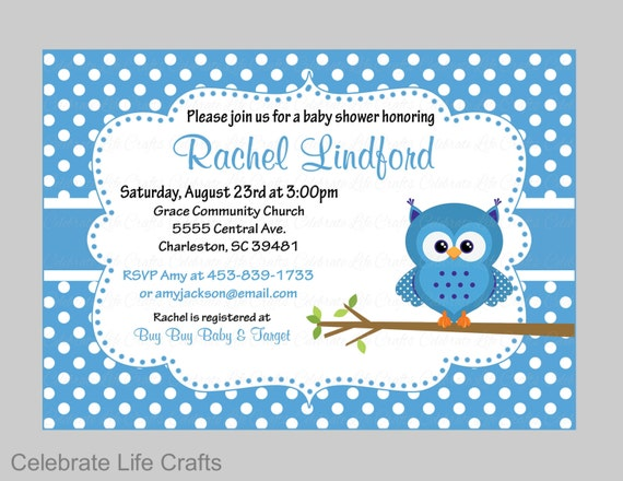 Baby shower invitations printable baby boy shower invite owl il570xn filmwisefo