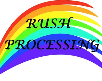 RUSH PROCESSING (eligible items)