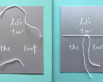 Let's Tie The Knot Card