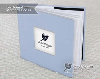 Baby Memory Book - Soft Blue