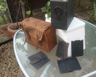 Antique pilot 6 plate Box Camera
