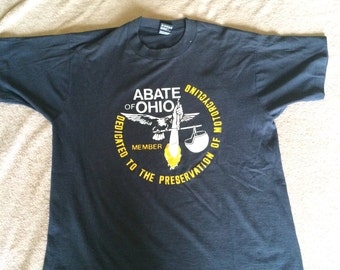 Vintage Abate of Ohio Member T-Shirt
