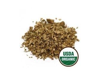 USDA Organic Kosher Certified Dried Burdock Root Arctium Lappa Cut Sifted 1-16oz