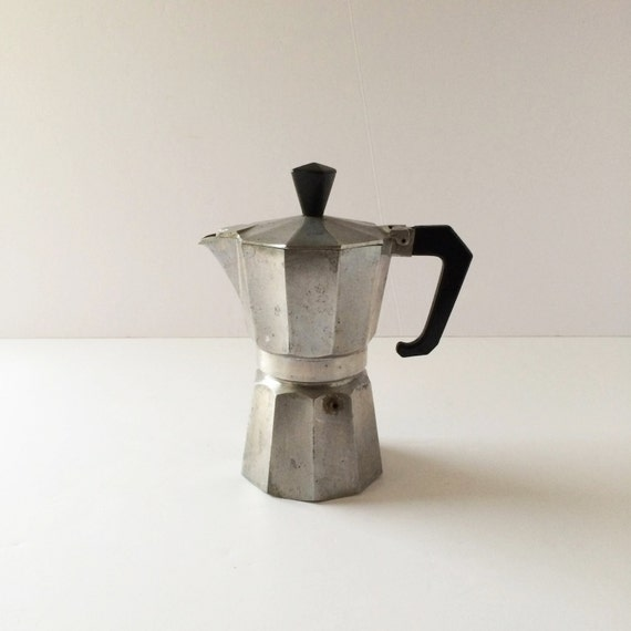 Italexpress Coffee Maker How To Use : Vintage Pezzetti ItalExpress Moka Stove-Top Espresso Maker