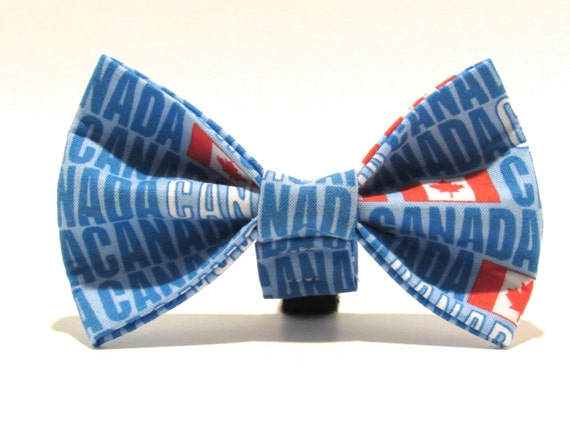 Doggie Bow Tie Canada Day, Canada Bow Tie, bowtie, olympic bowtie, rio 2016