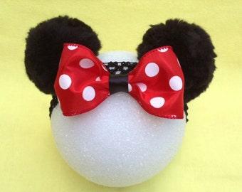 Minnie Mouse Ears Headband for Baby