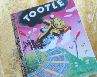1945 Tootle the Train Golden Book Good to very good vintage  condition