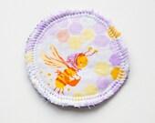 Worker Bee - Menstrual Cup Coaster - Cup Rug - Cup Spot