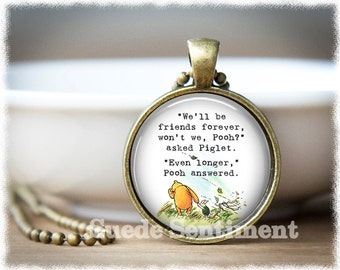 Friend Birthday Gift • Best Friend • Long Distance Friendship Pendant • Gifts For Friends • Going Away Gift