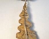 Carved Leaf  in Biggs Jasper Jewelry Pendant also known as Picture Jasper P2078