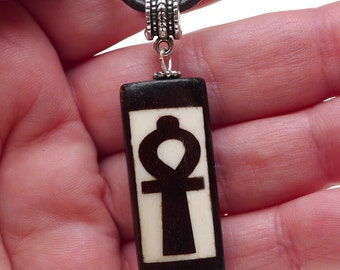 Ankh Pendant Necklace, Egyptian Jewelry - SE-P0666
