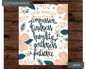 Colossians 3:12 Print