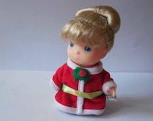 Precious Moments Hi Babies Christmas Doll Figurine