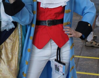 Hetalia France Austrian Succession Cosplay Costume