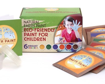 Natural Earth Paint for Children