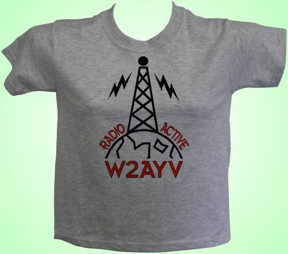 Ham radio tee shirt p2 custom printed choice of sayings for Custom t shirt sayings